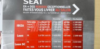 Prix SEAT Algérie (Sovac) 2014