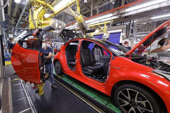 Toyota Yaris 4e 2020 : début de production à l'usine Toyota Onnaing : Valenciennes