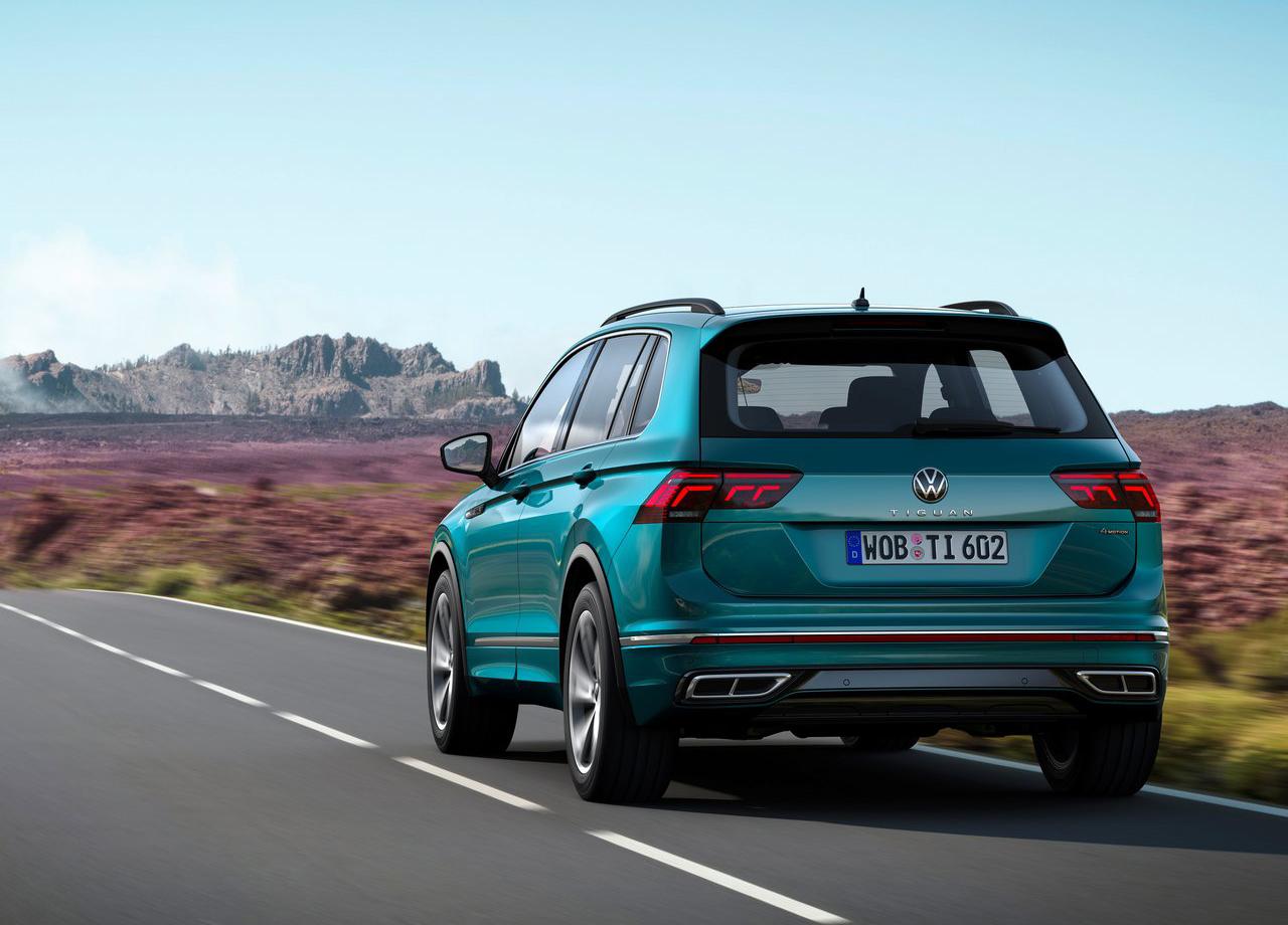 Volkswagen Tiguan 2021 : disponible à la commande en ...