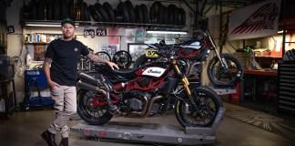 Indian Motorcycle et Roland Sands Design devoilent une collection d'accessoires inspirée de la course pour la FTR 1200