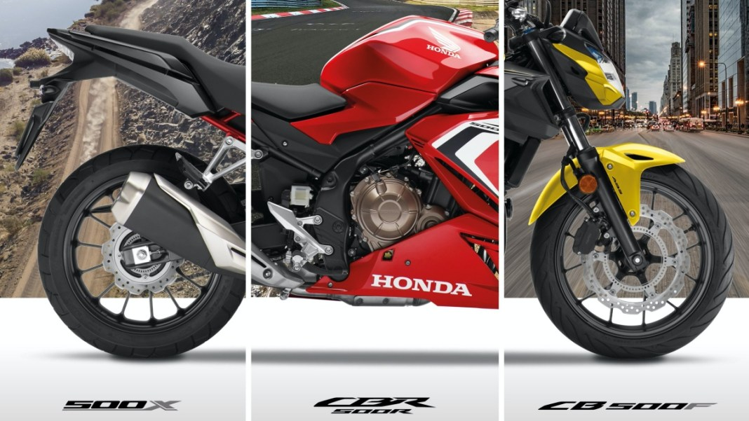 Honda CB500F, CBR500R ET CB500X