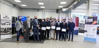 La première promotion de la classe Volvo Cars du GARAC diplômée