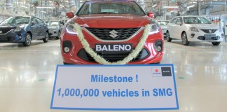usine Suzuki de Gujarat en Inde