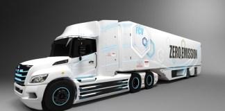 Toyota et Hino - Camion électrique