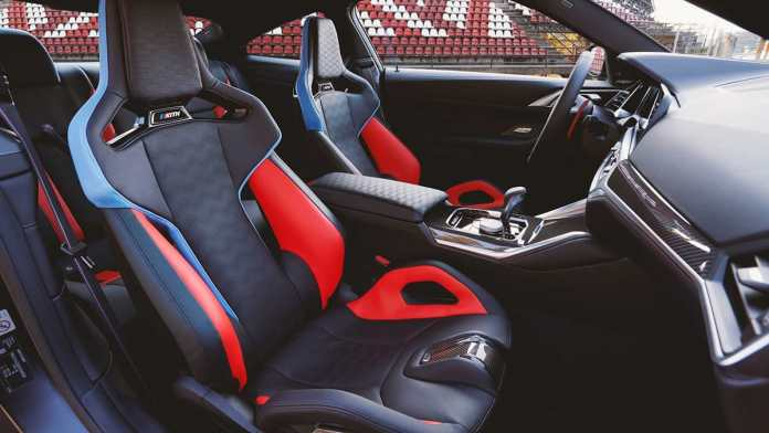 bmw m4 competition kith design study edition interior