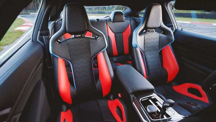 bmw m4 competition kith design study edition interior
