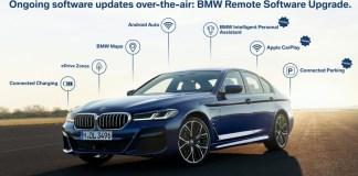 BMW 7 mise à jour