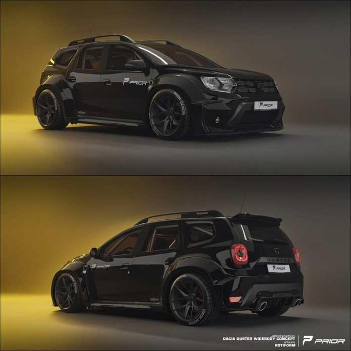 Dacia Duster ©Prior Design