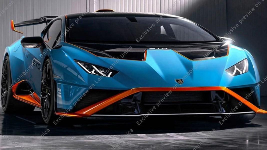 Lamborghini Huracan STO 2021