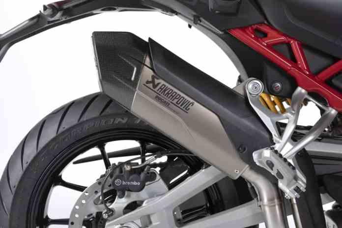 Ducati Multistrada V4 - Akrapovič