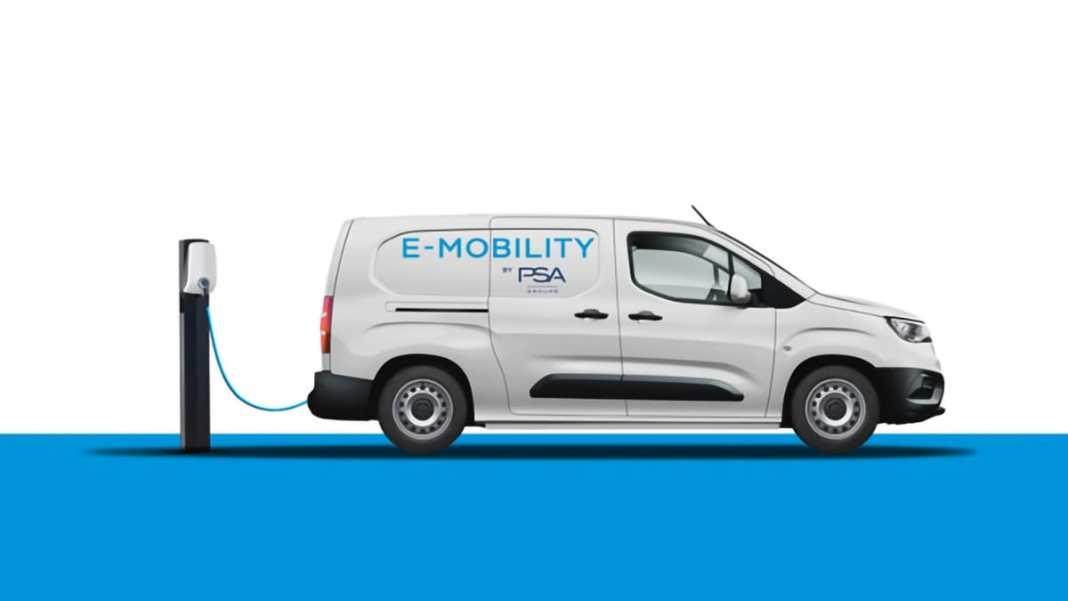 Groupe PSA lancera dès 2021 les versions 100% électriques de sa gamme de fourgonnettes