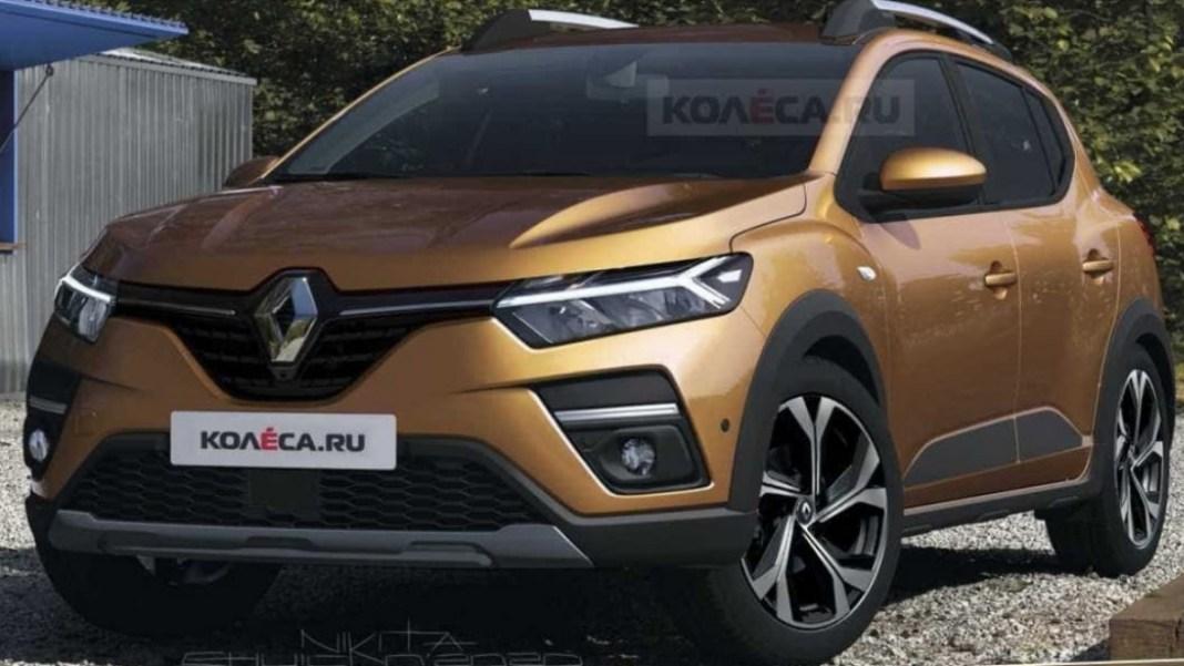 Renault Sandero Stepway - crédit photo Kolesa.ru