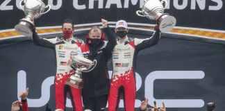Sébastien Ogier et Julien Ingrassia - Champions du Monde des Rallyes 2020 avec la Toyota Yaris
