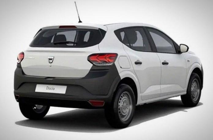 Dacia Sandero 2021 - version de base
