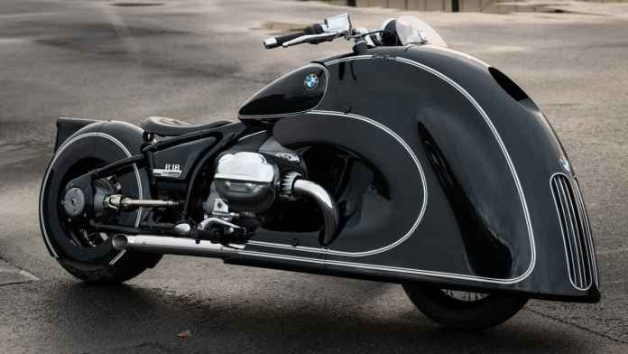 "BMW R 18 ""Spirit of Passion"" par Kingston Custom."