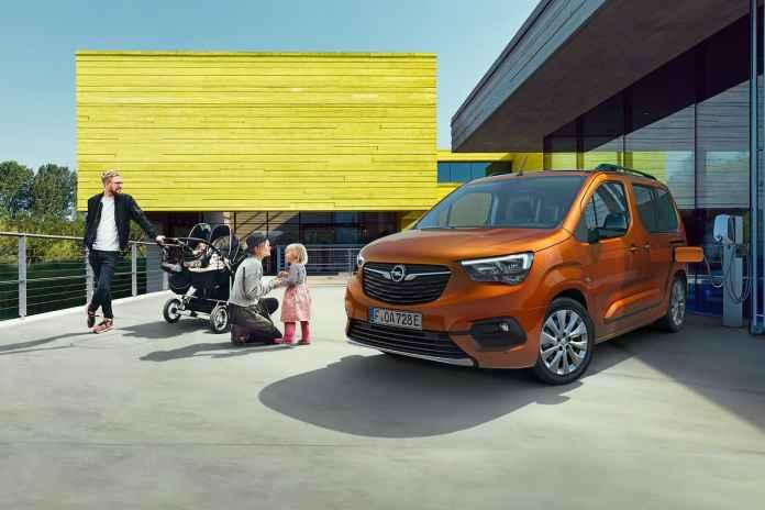 Nouvel Opel Combo-e Life