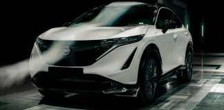 Nissan Ariya Aerodynamics
