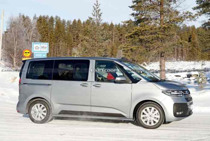 Volkswagen T7 Multivan - crédit photo carscoops