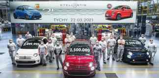 Fiat 500 usine TYCHY