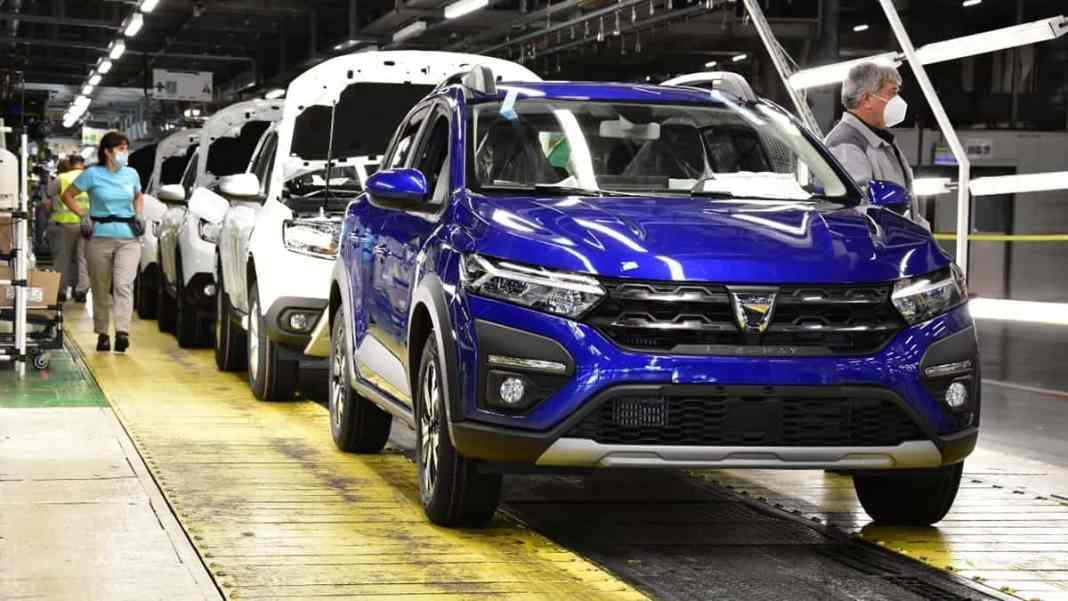 L'usine Dacia de Mioveni