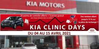 kia motos algérie clinic days