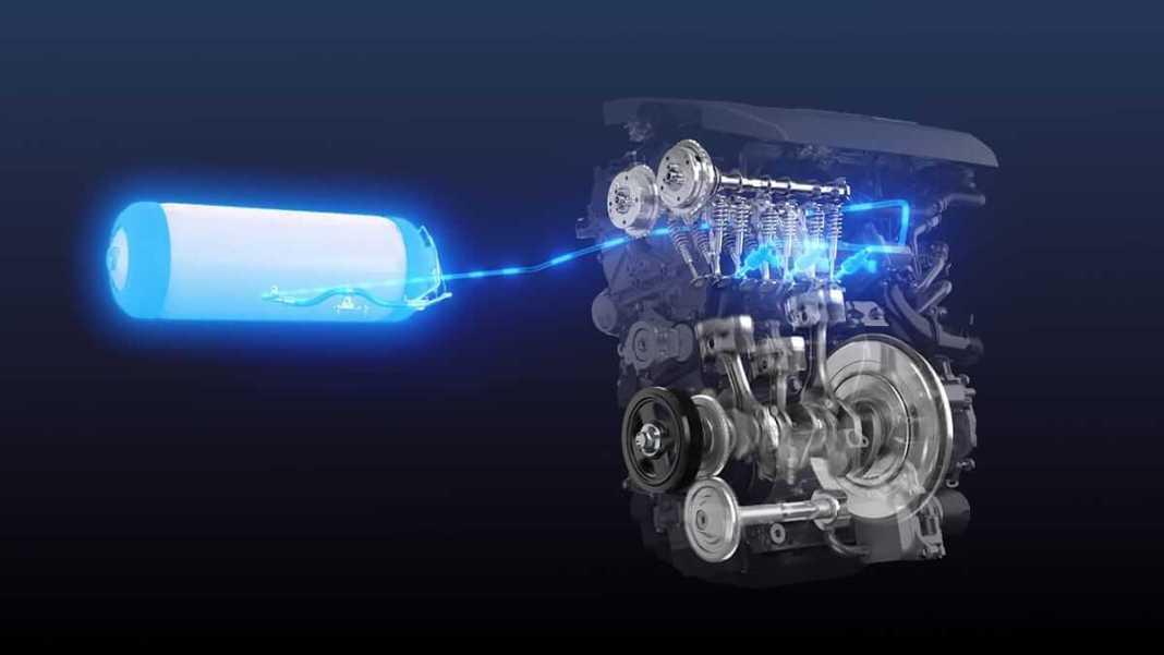 Toyota Wasserstoff Motor