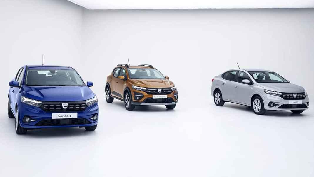 Dacia Sandero, Sandero Stepway et Logan