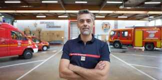 Christophe Lenglos, Lieutenant-colonel de Sapeurs-pompiers du Service Départemental d'Incendie et de Secours des Yvelines.