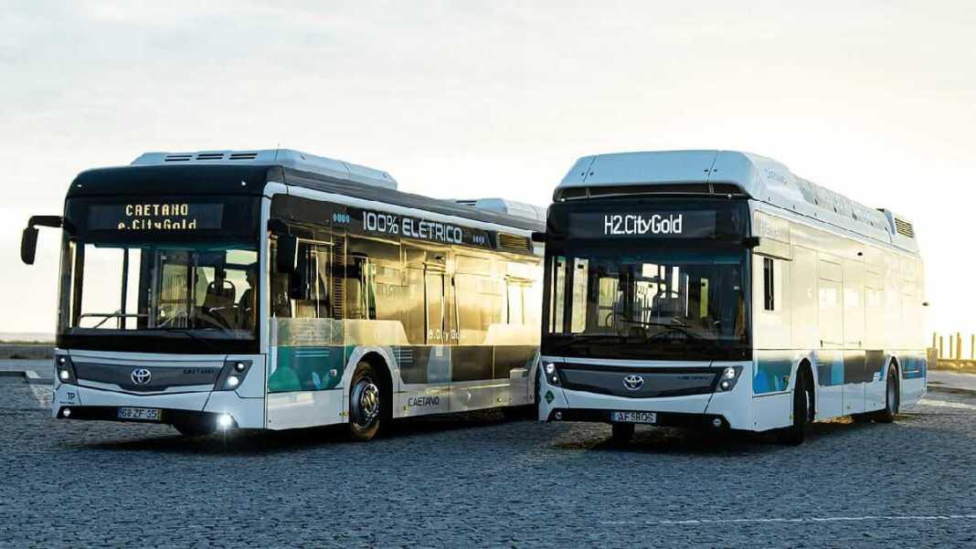Toyota lance le co-marquage de bus zéro émission avec CaetanoBus