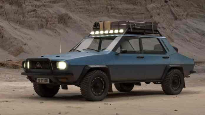 Dacia 1300 Safari - crédit image Dila Andrei-Constantin