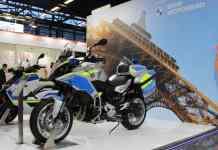 BMW Motorrad au salon Milipol 2021