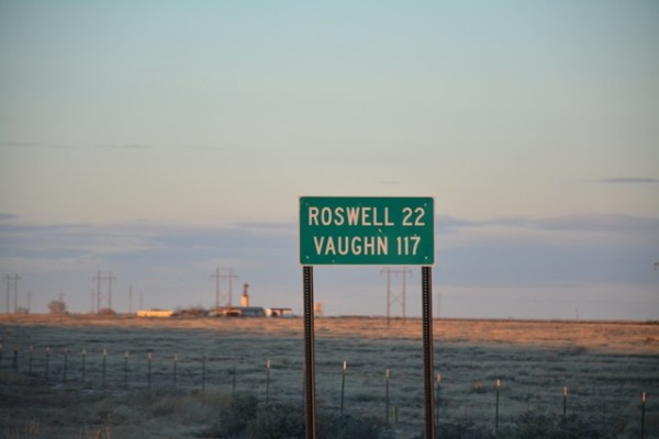 Dodge Charger Roswell New Mexico Andres ONeill photo street sign
