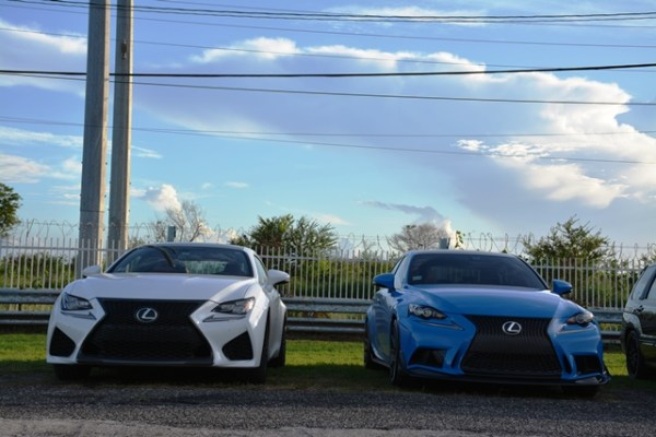 Lexus RC Lexus IS F Sport Andres O'Neill photo