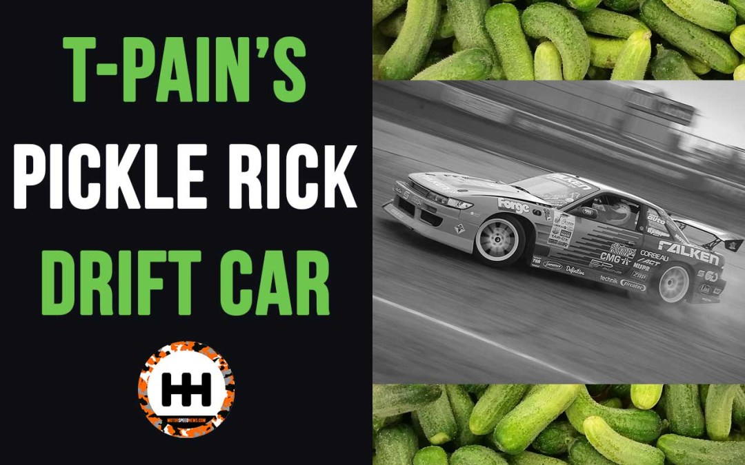 Check Out T-Pain's Pickle Rick Drift Car (240SX)