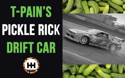 Check Out T-Pain's Pickle Rick Drift Car (240SX)