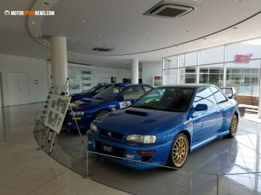 Motor Speed News Photography - Imprezas at Mitaka Subaru in Japan