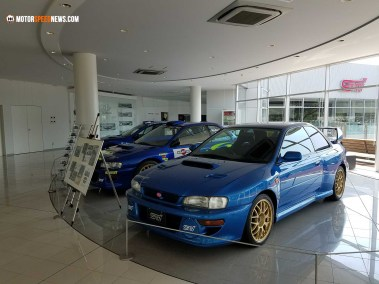 Motor Speed News Photography - Imprezas at Mitaka Subaru in Japan