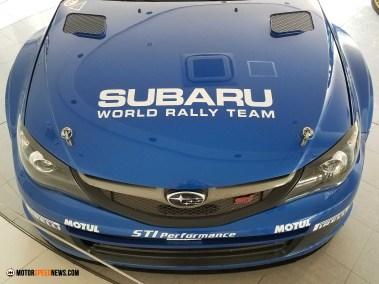 Motor Speed News Photography - Subaru Rally Racing Hood - Mitaka Subaru In Japan