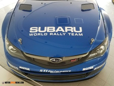 Motor Speed News Photography - Subaru Rally Racing Hood - Mitaka Subaru In Japan