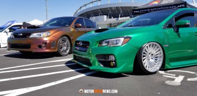 WRX STIs at Rocky Mountian Subaru Festival - Denver CO   Motor Speed News Photography