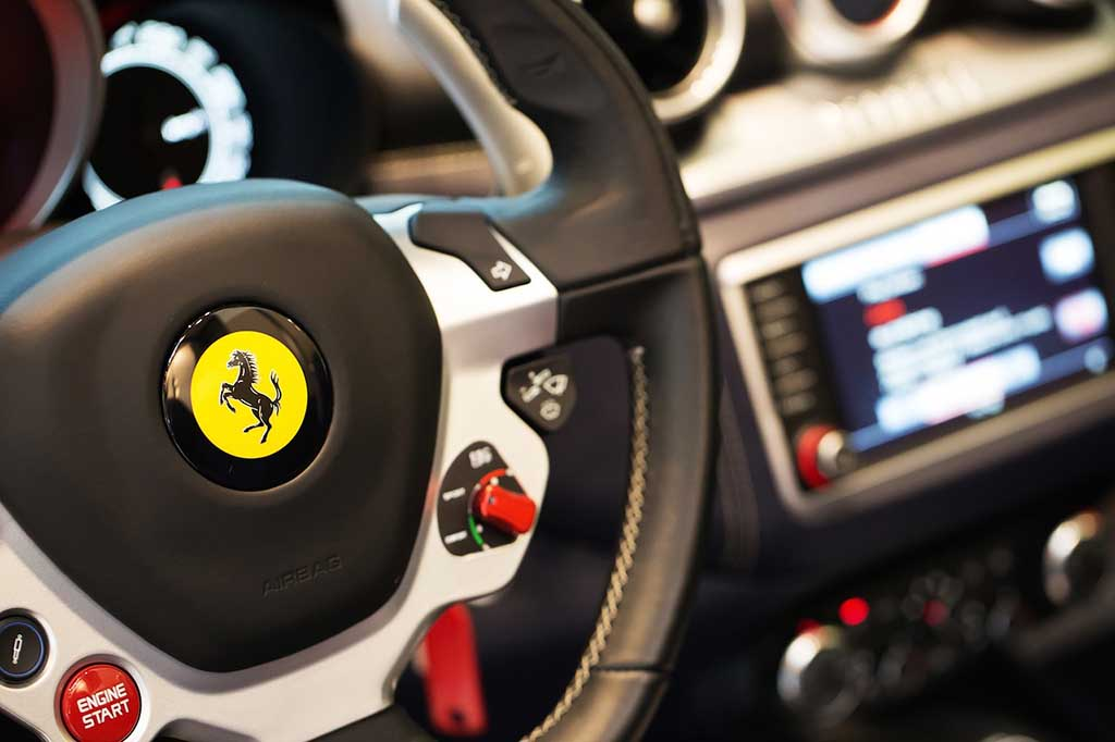 20 Quotes About Cars And Driving - Ferrari Cockpit