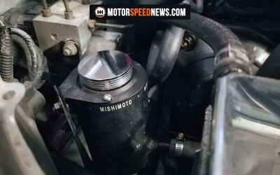 Cleaning Up The WRX Engine Bay With A Mishimoto Power Steering Reservoir