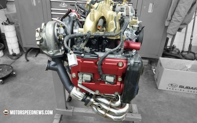 The IAG Short Block Engine Build