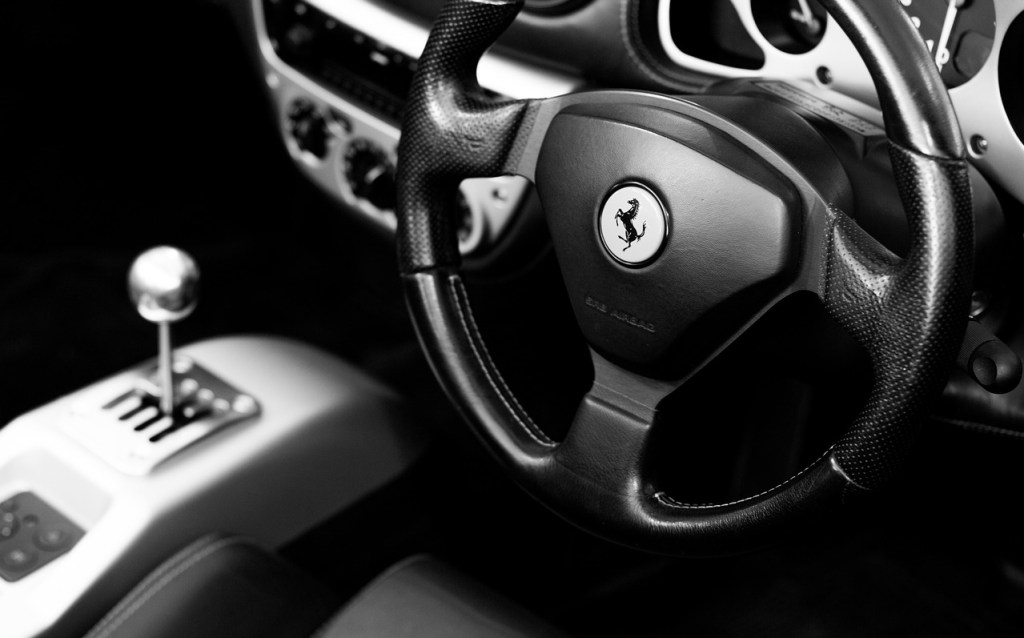 Why You Should Drive A Car With A Manual Gearbox - Ferrari Cockpit with manual gearbox