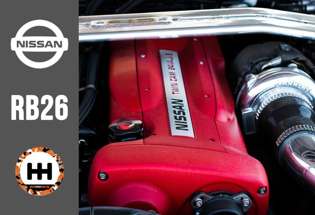 RB26 Engine Photo