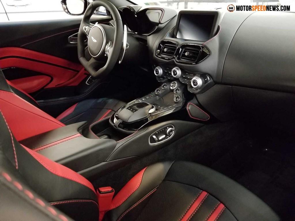 Aston Martin Vantage Interior 2