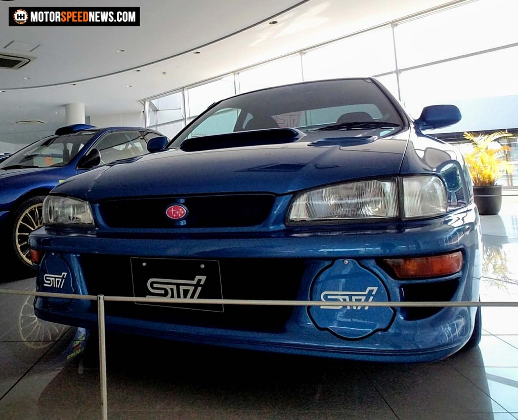 Mitaka Subaru In Japan - 22B STI -image 2
