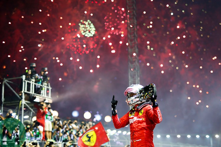 2019 F1 Singapore Grand Prix report: Vettel nabs victory from outstanding  Leclerc | Motor Sport Magazine