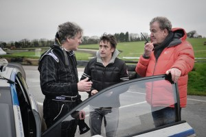 "Hammond & Clarkson acted as May's ""spotters""..."