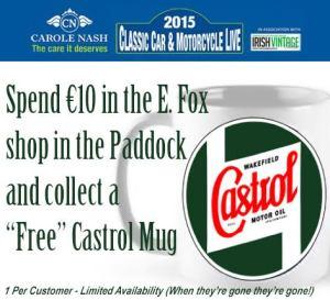 Castrol Mug